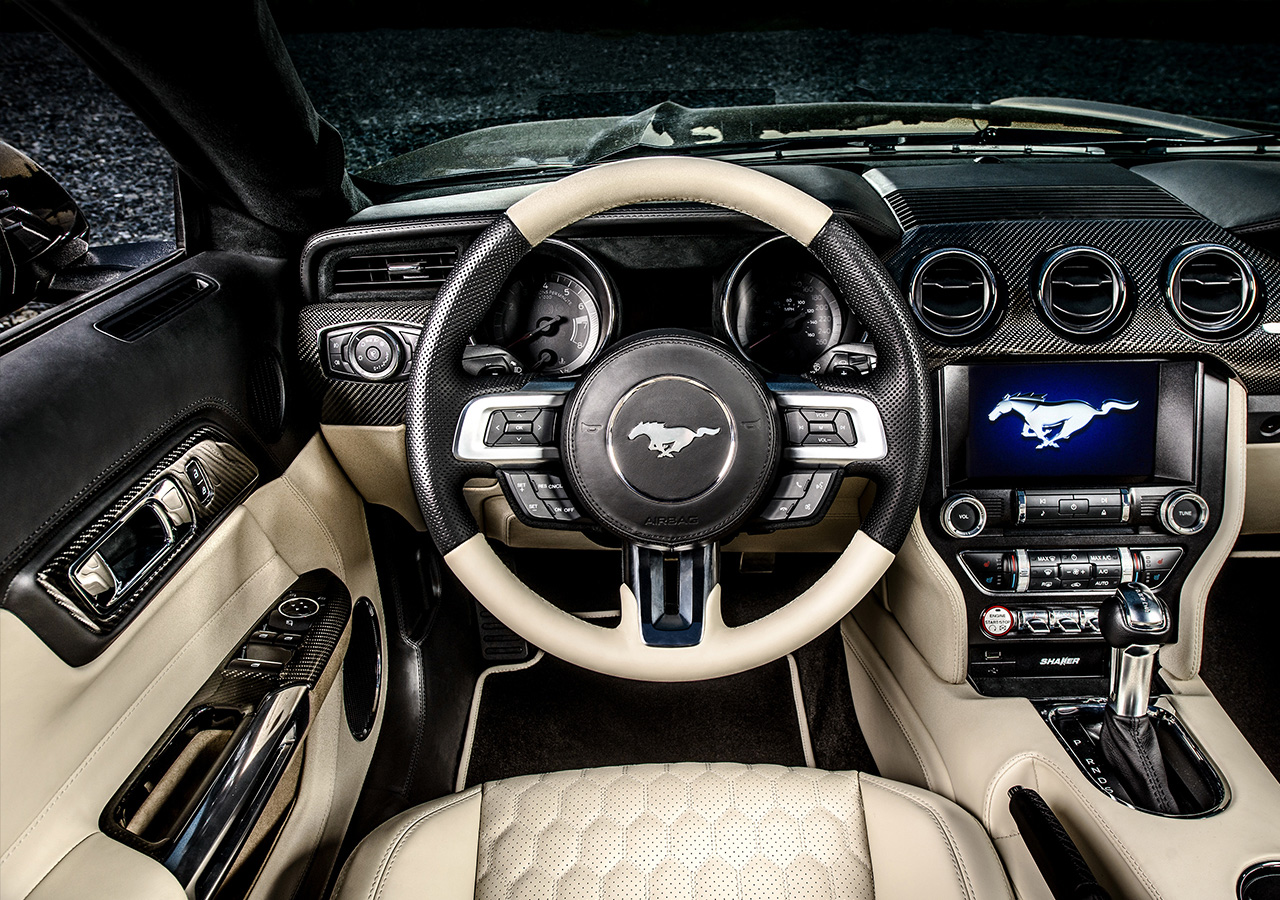 Interior Design Ford Mustang Cabrio By Carlex Design