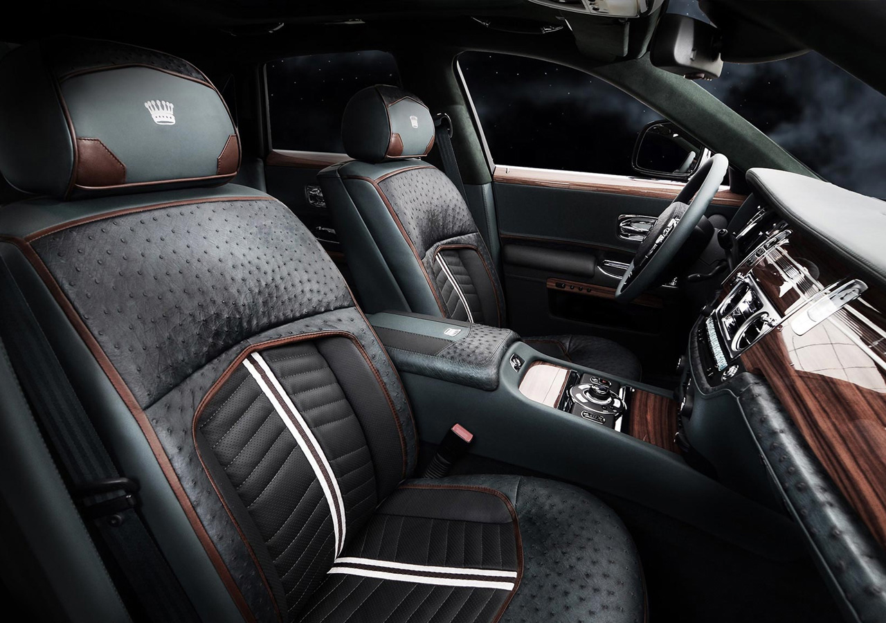 Rolls Royce Ghost By Carlex Design Interior Conversion